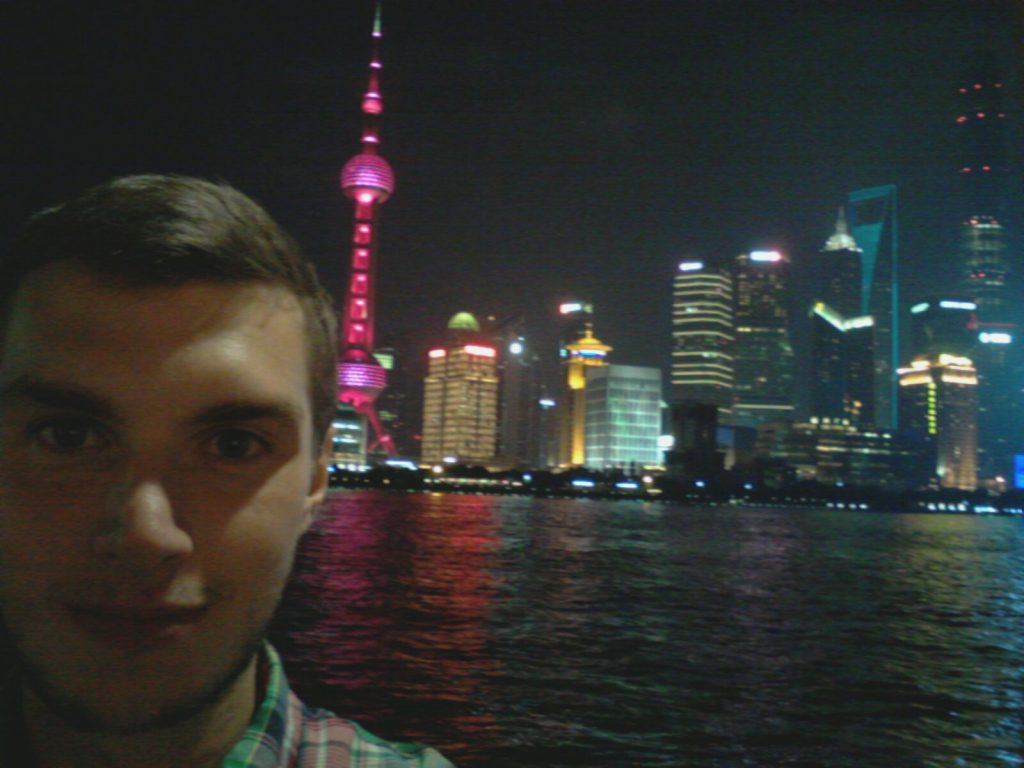 Selfies at the Bund