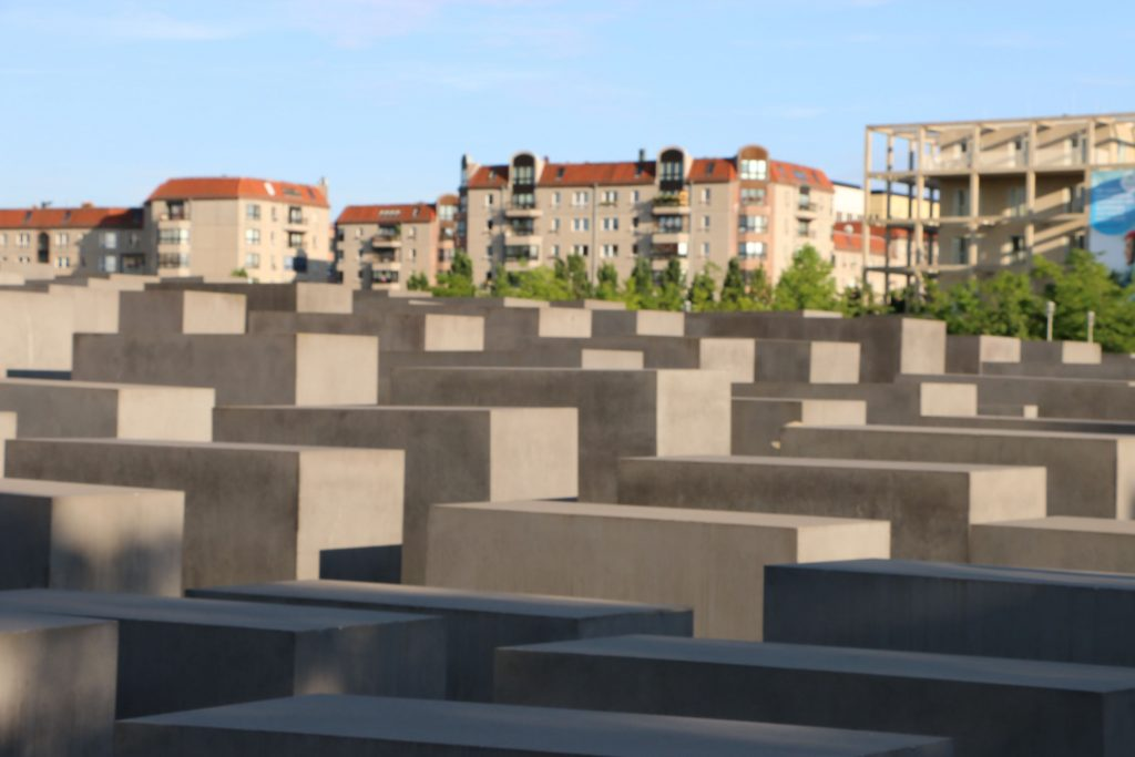 The Stehlenfeld is a memorial for the Jewish victims of the Holocaust. You can actually see Jewish people placing stones on these rocks. It is more than a Jewish graveyard though, take your time to walk through this field and get an impression yourself!