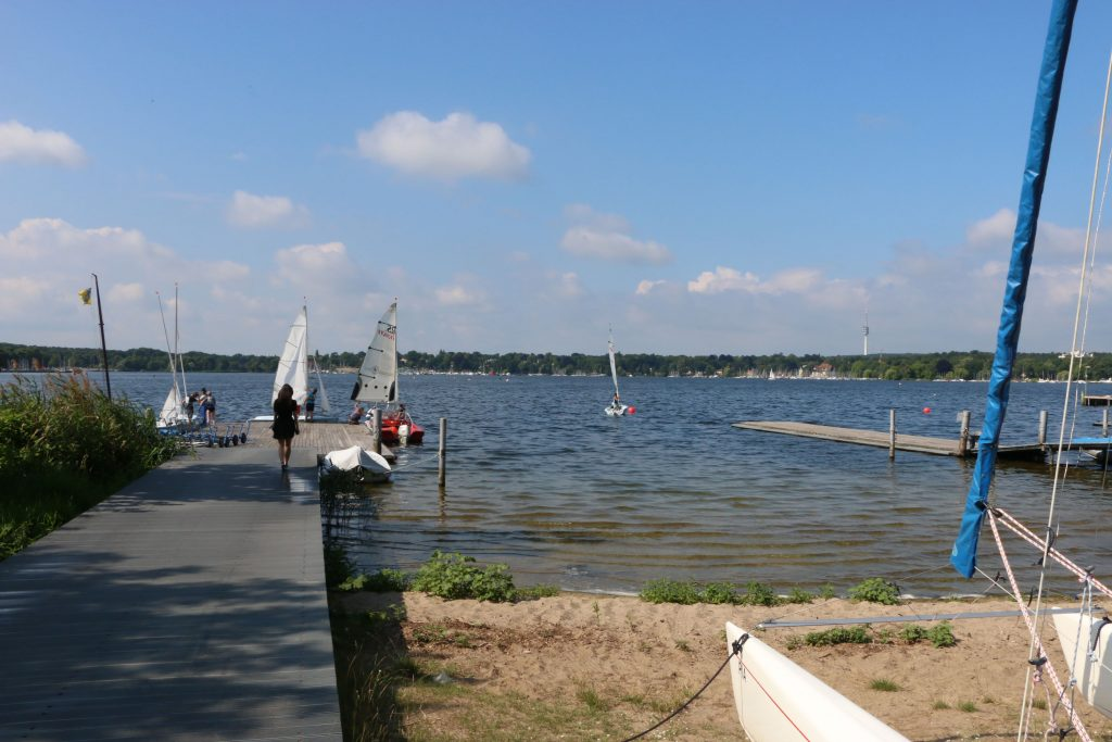 This pier was close to our accommodation at the Wannsee
