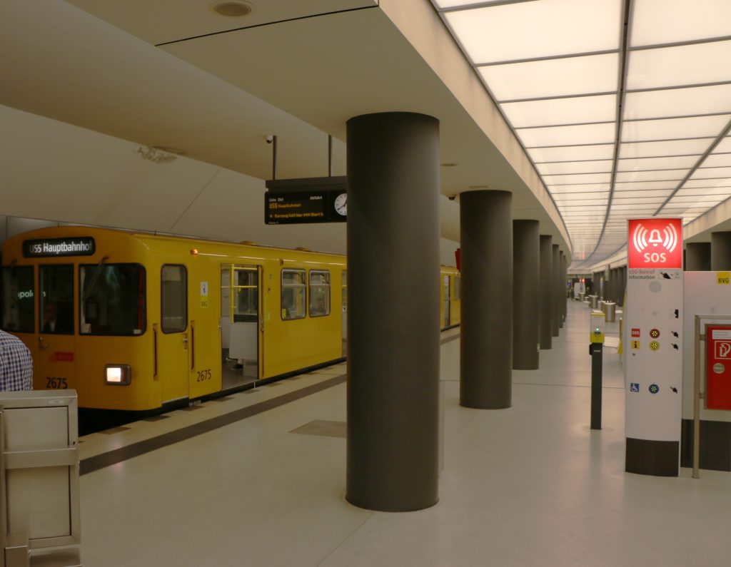 Berlin probably has the most extensive public transport system within Germany.