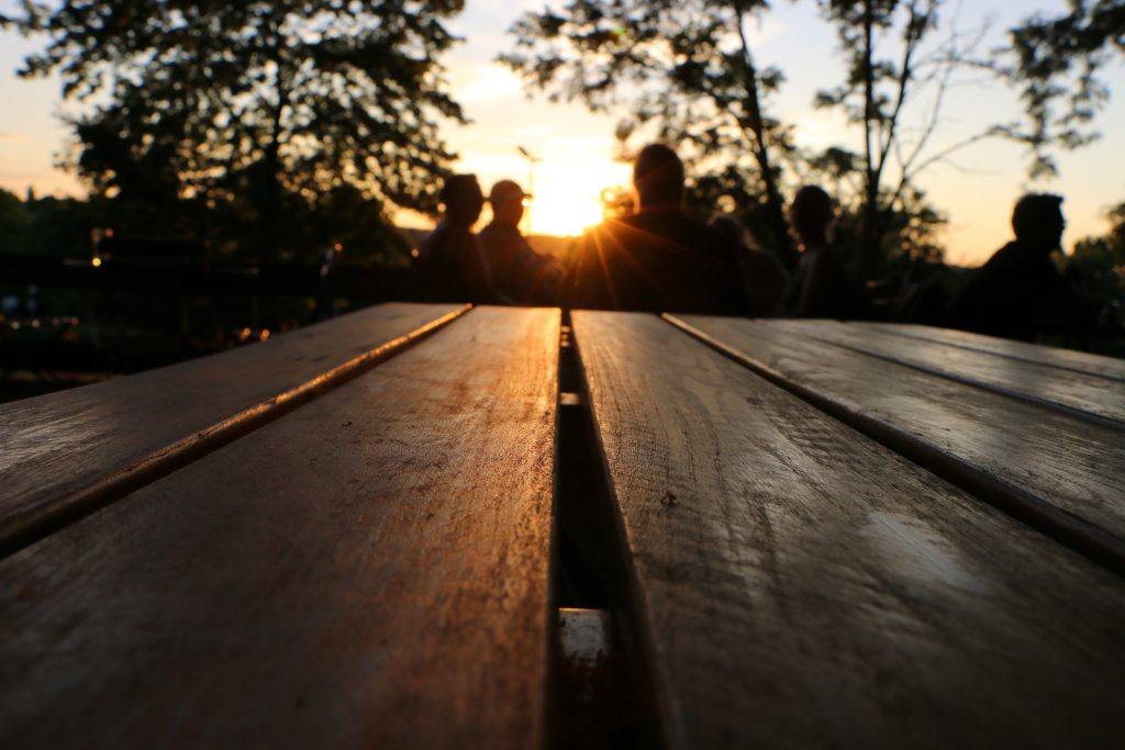 We came here at sunset, there was a really nice and relaxed atmosphere