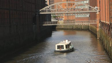 There are also boat tours around the Canals in the Speicherstadt, usually starting at the Landungsbrücken.
