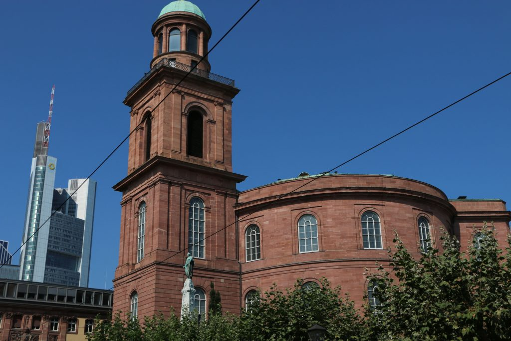 The Pauls Kirche can be described as the very first German Parliament
