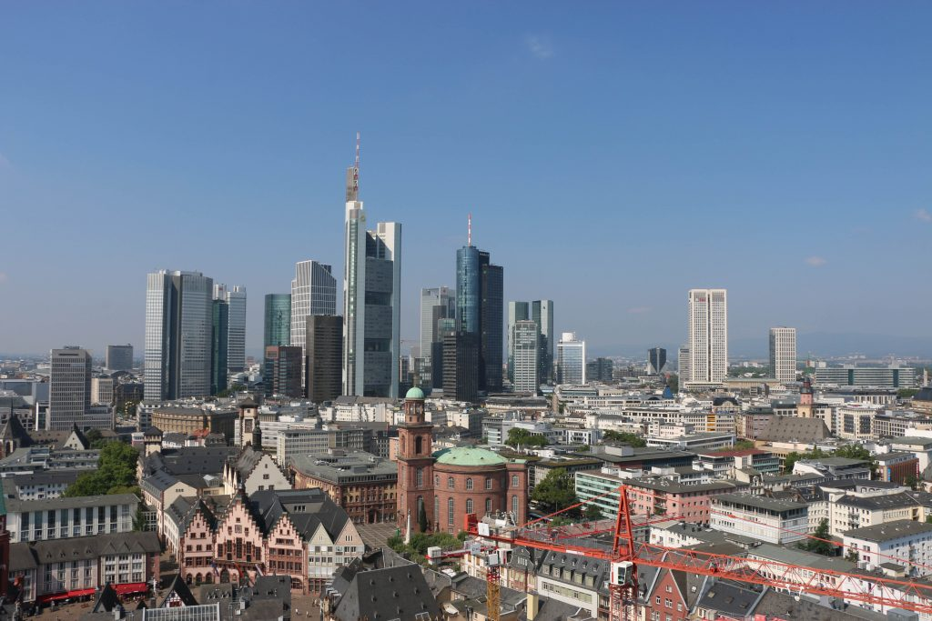 The skyline, the city hall and the Pauls Kirche!
