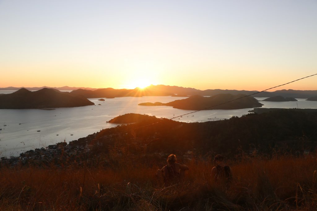 Also you can enjoy the best sunset in Coron.