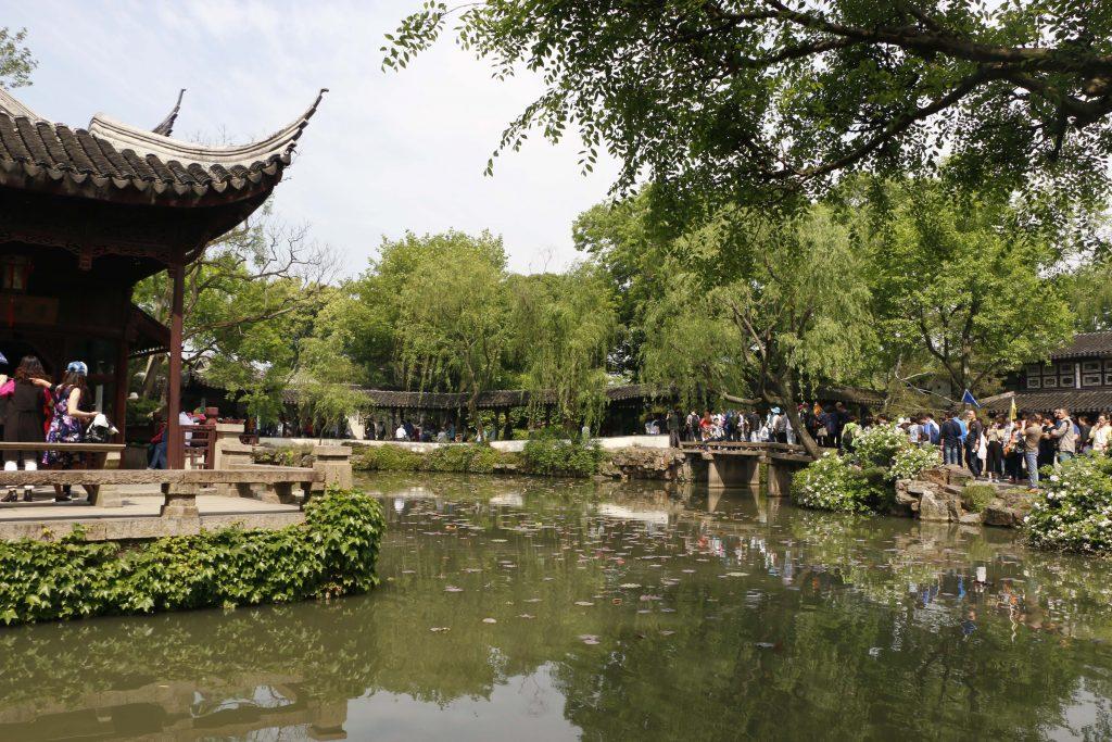 suzhou die stadt der g rten kan le und gondeln san pin. Black Bedroom Furniture Sets. Home Design Ideas
