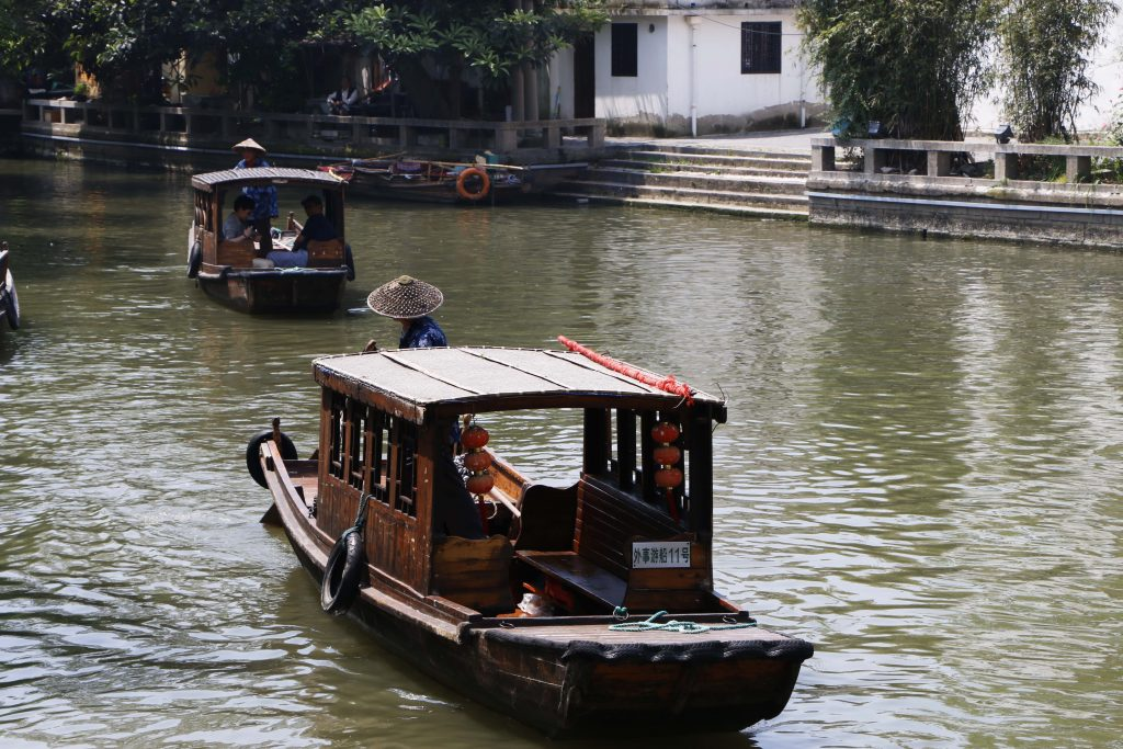 If you want to explore the area by water, this is a good place to hop on one of these boats!