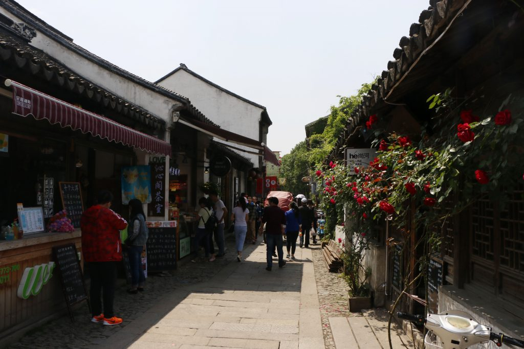 Explore the beautiful alleys and make sure to stop by the different snack shops along the way!