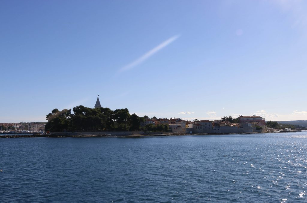 Novigrad where we started our tour, seen from the water.